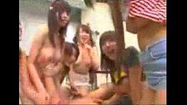 Japanese schoolgirls attacked teachers...
