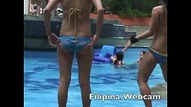 Asian girls bikini show...