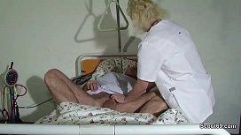 German Teen Nurse Help...