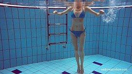 Blue Bikini tight pussy...