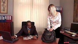 Nympho Secretary Wiska gets...