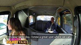 Female Fake Taxi Cabbie...