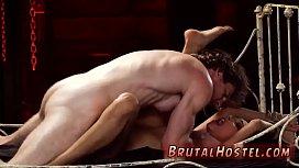 Bondage ass training and...