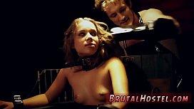 Ebony hardcore threesome squirt...