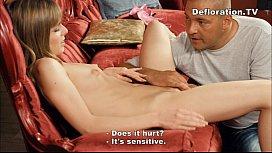 Big guy seduces a...