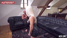 LETSDOEIT - Blonde Hottie Gets...