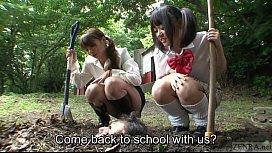 Subtitled Japanese principal outdoor...