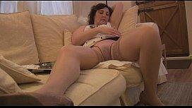 Busty mature milf panty...