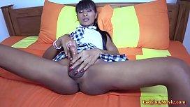 Ladyboy Schoolgirl Maria Bareback...