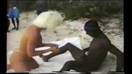Jamaica Beach - Blond Tourist...