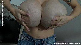 Penelope Black Diamond - Milking...