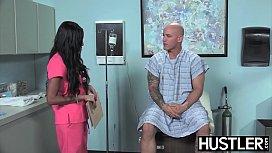 Latina nurse Sadie Santana...