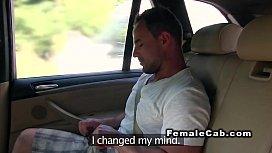 Fat female fake taxi...