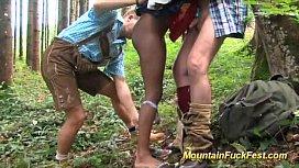 Black girl in mountain...