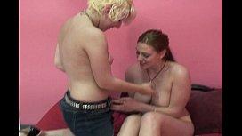 Lesbian young gals...