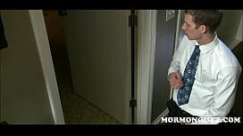 Horny Mormon Boy Jerks...