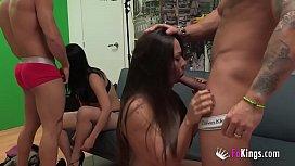 Bianca and Paul enjoy...