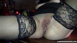 Slutwife gangbanged by over...