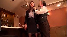 Office lady is hypnotized...