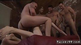 Licking between the balls...