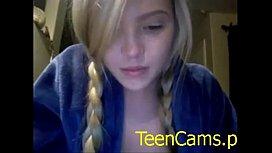 TeenCams.pw amateur blonde...