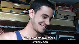 Three Amateur Gay Latino...