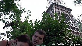 Eiffel Tower in Paris...