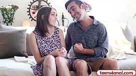 Cute teen virgin lets...