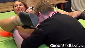 Busty German vixen penetrated...