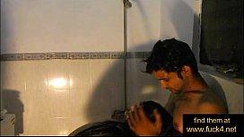 Indian amateur couple shower...