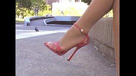 Ebony Pantyhose and Heels...