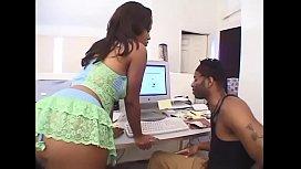 Black girl like a big black cock #1