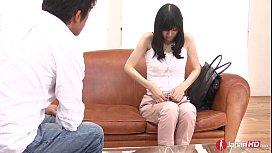 Cute innocent Japanese teen...