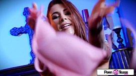 Pornstar Tease - Felicity Feline...