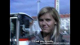 CZECH STREETS - Ilona takes cash for ...