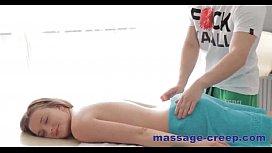 Perfect massage oil blonde...