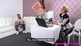 FemaleAgent MILF gets his...