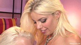 Britney Amber Busty Lesbian...