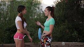 Hot lesbian couple Jenna...