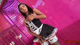 Gina Valentina Stunning Maid Banged Deep