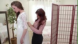 Syren De Mer And Elena Koshka The Wedding Dress