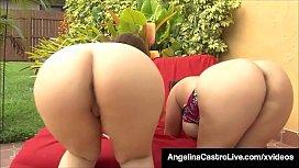 Big Hot Women Angelina Castro & Lexxxi Lockhart Blow BBC!