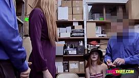 Lauren and Scarlett are taken to office