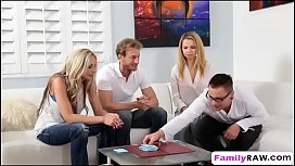 Weird family played poker...