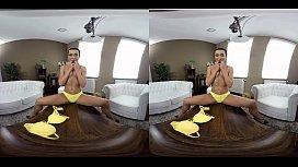 Anna Rose Enjoys VR...