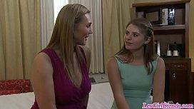 Tanya Tate seducing Alice...