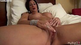 Nude Female Bodybuilder Rubs...