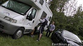 Caravan Boys 2014 - Handjob...
