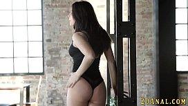 Big ass babe anal...