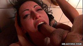 Horny brunette Veronica Jett...